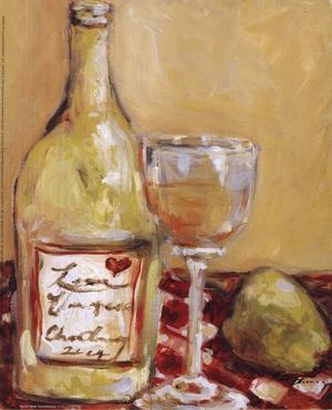 Picnic With Chardonnay by Nicole Etienne