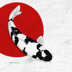 Splashing Beauty Shiro Utsuri by Nicole Gruhn