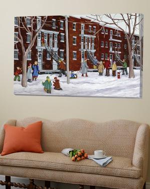 Il parait que l'hiver sera long by Nicole Laporte