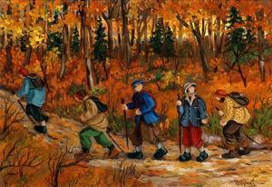 Les randonneurs by Nicole Laporte