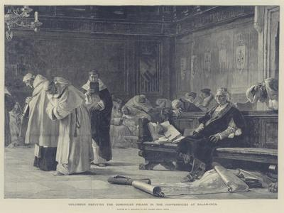 Columbus Refuting the Dominican Friars in the Conferences at Salamanca