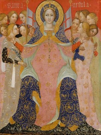 Saint Ursula and Her Maidens, c.1410 by Nicolo di Pietro