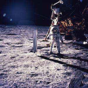 Apollo 11 Aldrin by Niel Armstrong