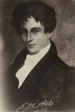 Niels Henrik Abel (1801-1829), Norwegian Mathematician