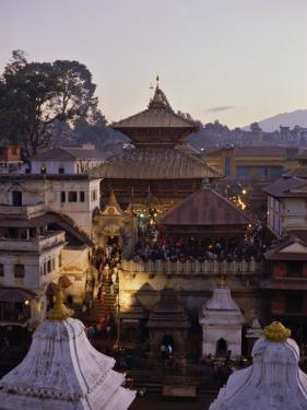 Pashupatinath Temple, UNESCO World Heritage Site, Kathmandu, Nepal by Nigel Blythe
