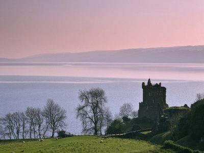 Urquhart Castle, Strone Point on the North-Western Shore of Loch Ness, Inverness-Shire
