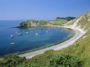 Lulworth Cove, Dorset, England by Nigel Francis