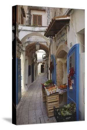 A Street Scene in the Old Part of Sperlonga, Lazio, Italy by Nigel Hicks