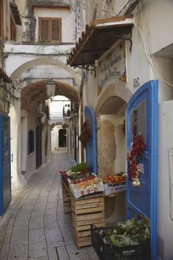 A Street Scene in the Old Part of Sperlonga, Lazio, Italy by Nigel Hicks