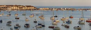A Sunset View of Teignmouth and the Mouth of the River Teign, Devon, England by Nigel Hicks