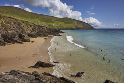 Beach on Dunmore Head, at the western end of the Dingle Peninsula, County Kerry, Munster, Republic  by Nigel Hicks