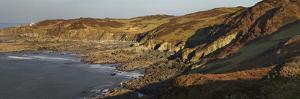 Bull Point, Seen across Rockham Bay, Mortehoe, Near Woolacombe, Near Ilfracombe, Devon by Nigel Hicks