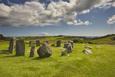 Drombeg stone circle, near Clonakilty, County Cork, Munster, Republic of Ireland, Europe by Nigel Hicks