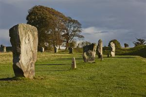Standing Stones in the Prehistoric Stone Circles at the Avebury Henge by Nigel Hicks