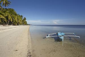 The beach at San Juan on the southwest coast of Siquijor, Philippines, Southeast Asia, Asia by Nigel Hicks