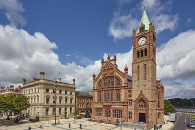 The Guildhall, Derry (Londonderry), County Londonderry, Ulster, Northern Ireland, United Kingdom, E by Nigel Hicks