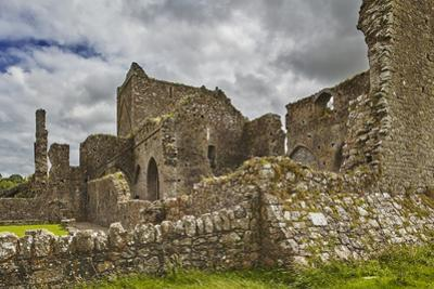 The ruins of Hore Abbey, near the ruins of the Rock of Cashel, Cashel, County Tipperary, Munster, R by Nigel Hicks