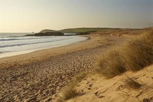 The Sands of Constantine Bay, Looking Towards Trevose Head, Near Padstow, Cornwall by Nigel Hicks
