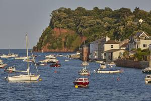 The Village of Shaldon, at the Mouth of the River Teign, with the Ness Headland Behind by Nigel Hicks