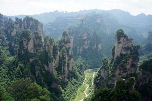 Zhangjiajie, China by Nigel Killeen