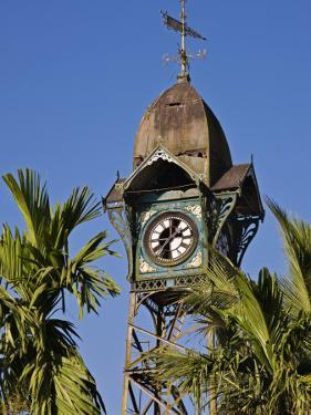 Burma, Rakhine State, the Old Clock Tower at Sittwe, Myanmar by Nigel Pavitt