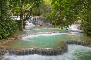 Laos, Kuang Si by Nigel Pavitt
