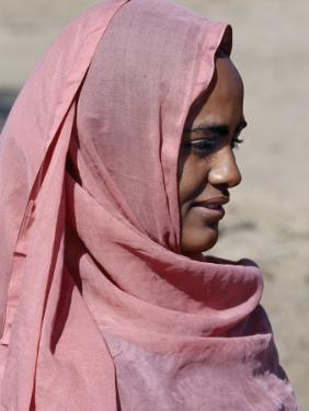 Nubian Women Wear Bright Dresses and Headscarves Even Though They are Muslims by Nigel Pavitt
