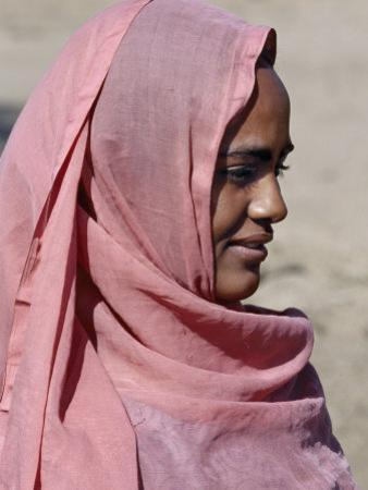 Nubian Women Wear Bright Dresses and Headscarves Even Though They are Muslims