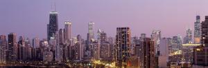 Night, Chicago, Illinois, USA