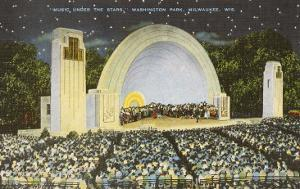 Night Concert, Washington Park, Milwaukee, Wisconsin
