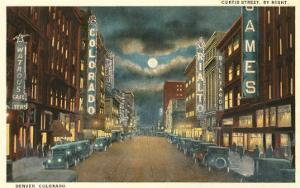 Night, Curtis Street, Denver