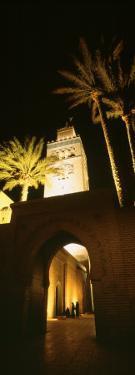 Night, Koutoubia Minaret, Marrakech, Morocco
