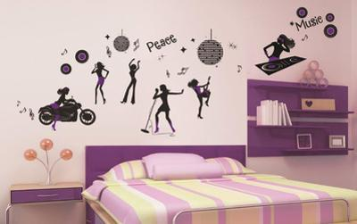 Night Life Wall Decal Sticker