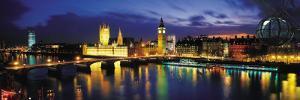 Night, London, England, United Kingdom