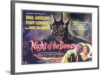 Night of the Demon - Foreign Style--Framed Poster