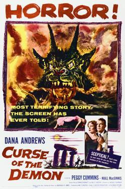 Night of the Demon - Movie Poster Reproduction