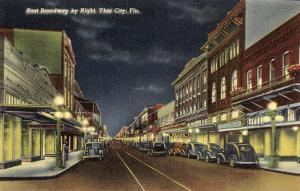 Night, Ybor City, Florida