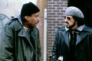 NIGHTHAWKS, 1981 directed by BRUCE MALMUTH Billy Dee Williams and Sylvester Stallone (photo)