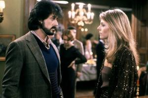 NIGHTHAWKS, 1981 directed by BRUCE MALMUTH Sylvester Stallone and Lindsay Wagner (photo)