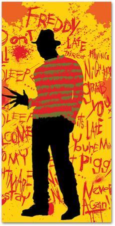 Nightmare on Elm Street - Freddy Silhouette Beach Towel