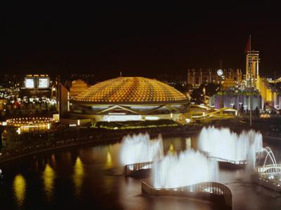 Nighttime View of the World's Fair