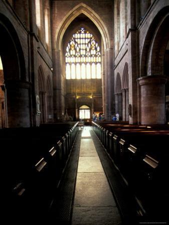 11th Century Monastery, The Abbey, Shrewsbury, England by Nik Wheeler