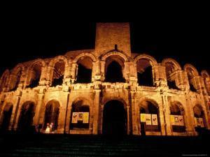 Amphitheatre, Arles, Provence, France by Nik Wheeler