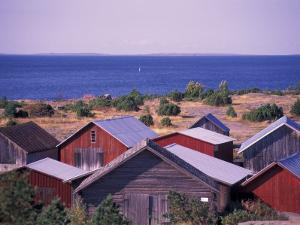 Boathouses of the Aland Islands, Finland by Nik Wheeler