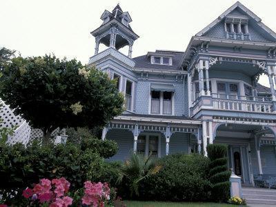 Edwards Victorian Mansion, Redlands, California, USA