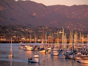Harbor, Santa Barbara, California by Nik Wheeler