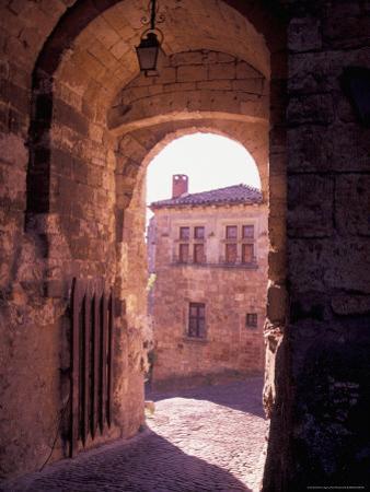 Inside the Walls of Cordes-sur-Ciel, Languedoc, France by Nik Wheeler