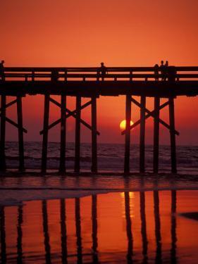 Newport Beach Pier, Orange County, California by Nik Wheeler