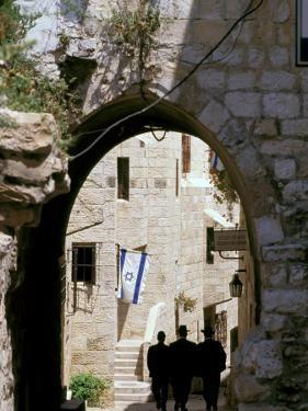 Old City, Jewish Quarter, Jerusalem, Israel by Nik Wheeler