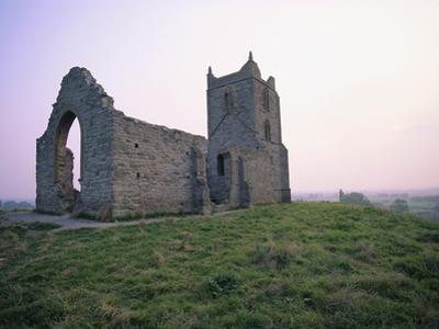 St. Michael's Church Ruins on Burrow Mump by Nik Wheeler